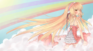 Strawberry Clouds Chobits by Trinity-In-Rainbows