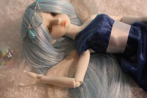 My Frist BJD by bluepaws21