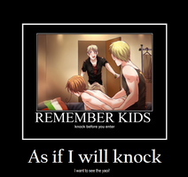 REMEMBER: never knock by daga000