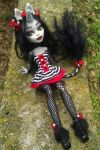 Monster High Custom Unicorn Circus Girl by AdeCiroDesigns