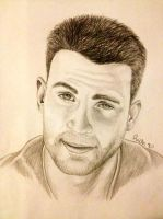 Chris Evans by Rich90a