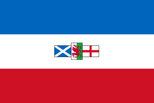 South African Style Great Britain Flag by zalezsky