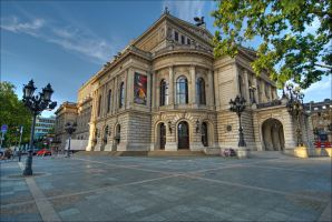 Old Opera in Frankfurt - HDR by calimer00