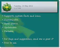 GoatNote [ Desktop Note ] by heilnizar