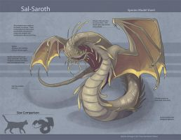 Sal-Saroth (Species Sheet) by Ulario