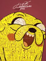 Jake Typograhpy by alif32