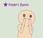 Look at my Cute Face AT Base by Paige-the-unicorn