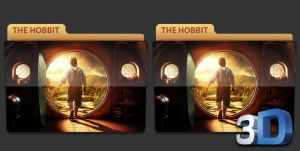 The Hobbit Movie Folder Icon by LeftRight