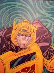 Sharpie Bumblebee by Tommyb345