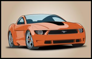Ford Mustang Giugiaro Concept by wilde-media