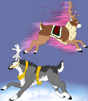 ~Dasher and Dancer~ by SapphireWolf100