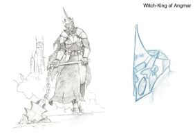 Witch King of Angmar by EnriqueGiner