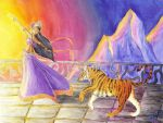 Dancer With Tiger by S0LEILnoir