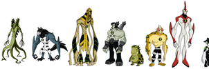 2 Set of Alien Forms by Bentenny10