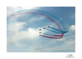 Red Arrows 6 by Paul-Madden