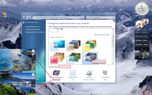 Regional Theme France for win7 by Morpheusvista