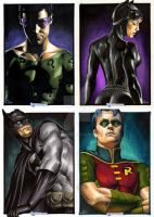 DC Legacy Card set by gattadonna