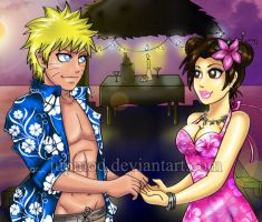 NT: Romance at Tropical Sunset by JuPMod