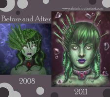 Before and After- 2008 vs 2011 by MMWoodcock