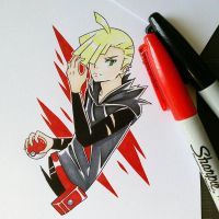 Gladion by matyosandon