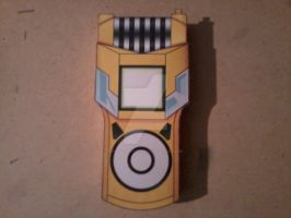 Yuu's Fusion Loader Digivice PaperCraft by SuperVegeta71290
