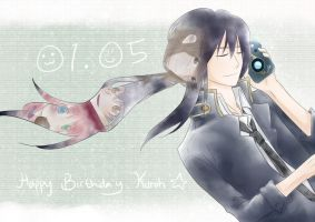 Happy Birthday Kuroh by VelvetSora