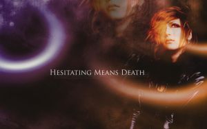 Hesitating Means Death - Uruha by RyokoChou