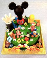 Disney cake by BrightlyWound455