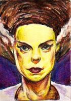 The Bride ACS Sketch Card by NickMockoviak