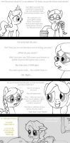 02 original - Diamond Tiara is not a popular pony by HareTrinity