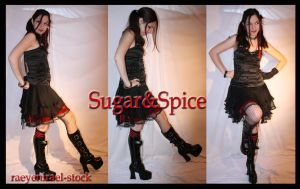 Sugar+Spice 'Marching pack' by RaeyenIrael-Stock