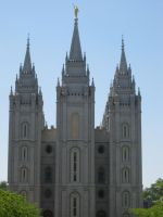The Salt Lake Temple by Pupachu