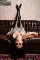 Crashed on the couch 4 by Aszap