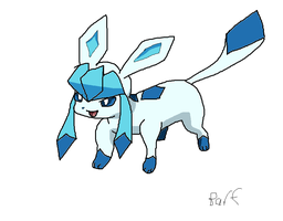 Glaceon by Barf-The-Dog