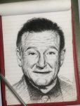 Robin Williams by sanjun