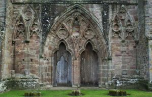 Tintern Abbey 1 - Stock by OghamMoon