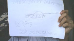 Derp drawing: KV-3 by COLT731