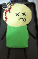 Cyanide and Happiness Cake by Darkling629