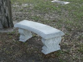 Stone bench by cerulean-stock