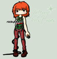 Hayley: Merry Christmas by NickyToons