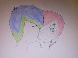 The Kiss by Forgotten-Thorn