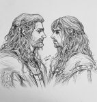 Prince Fili and Kili by evankart