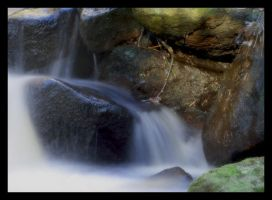 small waterfall. by mzkate