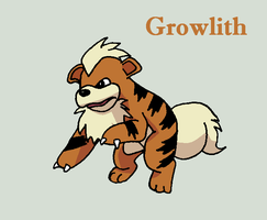Growlithe by Roky320