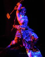 Conan with Hammer - Red Blue Lighting by SurfTiki