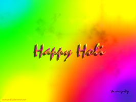 Happy Holi -1 by soumya-dip