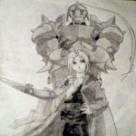 Ed and Al Elric by Emorockerz