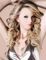 Taylor Swift painting by frostdusk