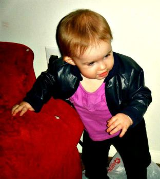 baby's first cosplay - Rose Tyler by galaxyfire