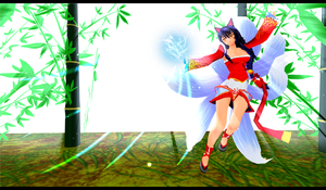 MMD NEWCOMER: LEAGUE OF LEGENDS' AHRI by azngirlJD